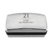 Personalised Birthday Big Age Cufflink Box - Personalise It!