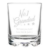 Personalised No.1 Grandad Tumbler - Personalise It!