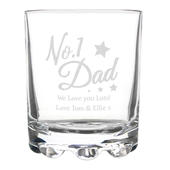 Personalised No.1 Dad Tumbler - Personalise It!