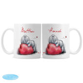 Personalised Me To You Heart Mug Set - Personalise It!