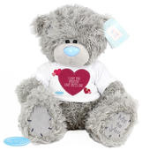 Personalised Me To You Bear Heart - Personalise It!