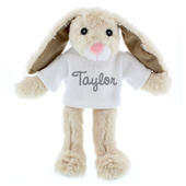 Personalised Name Only Bunny Rabbit - Grey - Personalise It!