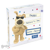 Personalised Boofle Stars Large Crystal Token - Personalise It!