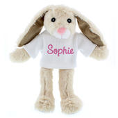 Personalised Name Only Bunny Rabbit - Pink - Personalise It!