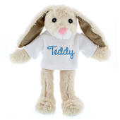 Personalised Name Only Bunny Rabbit - Blue - Personalise It!