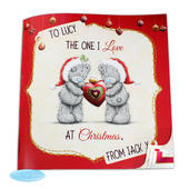 Personalised Me to You The One I Love at Christmas Poem Book - Personalise It!