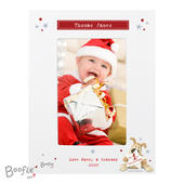 Personalised Boofle My 1st Christmas 4x6 Photo Frame - Personalise It!