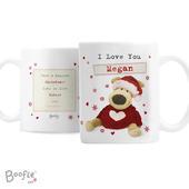 Personalised Boofle Christmas Love Mug - Personalise It!