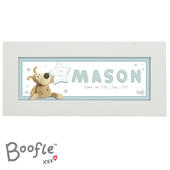 Personalised Boofle It's a Boy Name Frame - Personalise It!