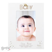 Personalised Boofle Baby 4x6 Photo Frame - Personalise It!