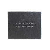 Personalised Classic Single Slate Coaster - Personalise It!