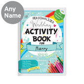 Personalised Wedding Activity Book with Stickers - Personalise It!