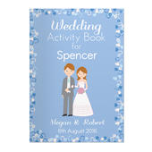 Personalised Wedding Activity Book for Boys - Personalise It!