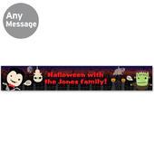 Personalised Halloween Banner - Personalise It!