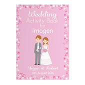 Personalised Wedding Activity Book for Girls - Personalise It!