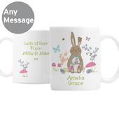 Personalised Easter Meadow Bunny Mug - Personalise It!