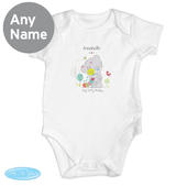 Personalised Tiny Tatty Teddy Cuddle Bug 0-3 Months Baby Vest - Personalise It!