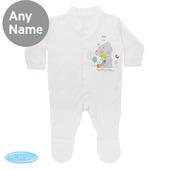 Personalised Tiny Tatty Teddy Cuddle Bug 0-3 Months Babygrow - Personalise It!