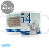 Personalised Me To You Birthday Big Age Male Mug - Personalise It!