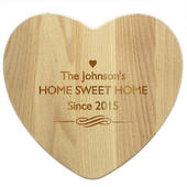 Personalised Heart Chopping Board - Personalise It!