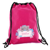 Personalised Me To You Pink Swim & Kit Bag - Personalise It!