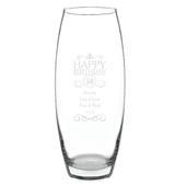 Personalised Birthday Bullet Vase - Personalise It!
