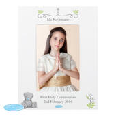 Personalised Me To You Religious Cross 4x6 Photo Frame - Personalise It!
