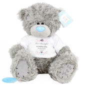 Personalised Me To You Bear for Bridesmaid and Flowergirl - Personalise It!