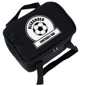 Personalised Football Fan Lunch Bag - Personalise It!