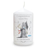 Personalised Me to You Graduation Candle - Personalise It!