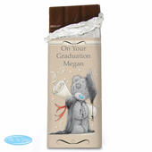 Personalised Me to You Graduation Milk Chocolate Bar - Personalise It!