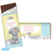 Personalised Me To You Easter Milk Chocolate Bar - Personalise It!