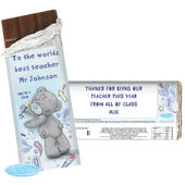 Personalised Me to You Teacher Milk Chocolate Bar - Personalise It!
