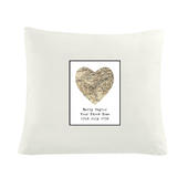 Personalised 1896 - 1904 Revised New Map Heart Cushion Cover - Personalise It!