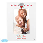 Personalised Me to You Big Heart 4x6 Photo Frame - Personalise It!