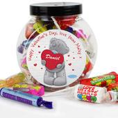 Personalised Me to You Big Heart Sweet Jar - Personalise It!