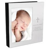 Personalised Cross 4x6 Photo Frame Album - Personalise It!