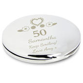 Personalised Birthday Craft Compact Mirror - Personalise It!