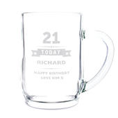 Personalised Birthday Star Tankard - Personalise It!