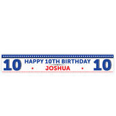 Personalised Birthday Star Banner - Personalise It!