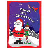 Personalised Its Christmas Elf Story Book - Personalise It!