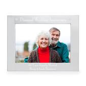 Personalised Diamond Anniversary 7x5 Landscape Photo Frame - Personalise It!