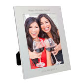 Personalised Silver 5x7 Photo Frame - Personalise It!