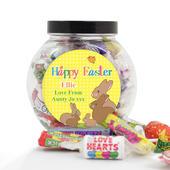 Personalised Easter Bunny Sweet Jar - Personalise It!
