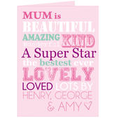 Personalised She Is... Card Add Any Name - Personalise It!