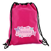Personalised Butterfly Swim & Kit Bag - Personalise It!