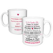 Personalised We Go Together Like.... Mug - Personalise It!