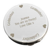 Personalised Godmother Compact Mirror - Personalise It!