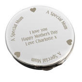 Personalised Mum Compact Mirror - Personalise It!