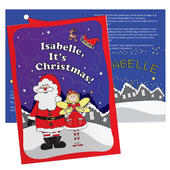 Personalised 'It's Christmas' Fairy Story Book - Personalise It!